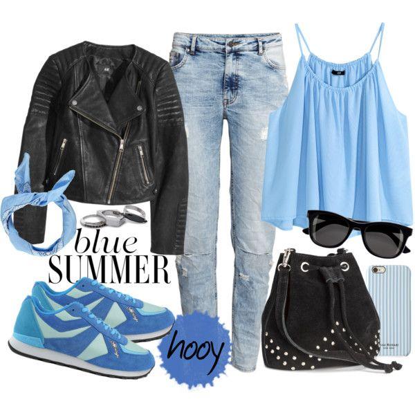 Hooy spider w kolorze niebieskim, stworzyłam stylizacje inspirację z tym właśnie modelem. Zestaw idealny na chłodniejszy koniec lata, stylizacja wygodna ale kobieca, z pazurem, lubię takie połączenia a jak wam się podoba? Co sadzicie o tej wersji kolorystycznej butów?