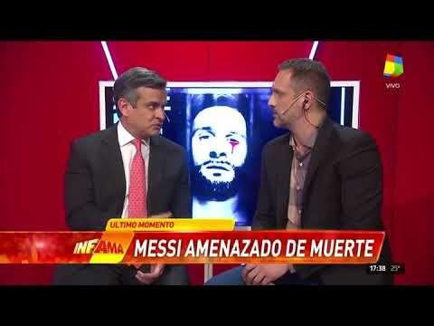 Preocupación por la amenaza de ISIS al Mundial con la imagen de Messi