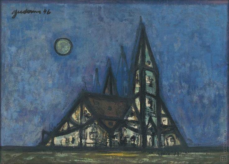 Ladislav Guderna: Kostol:1946