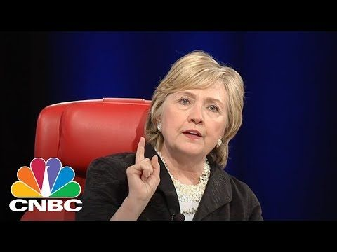 2000 down votes, she can't even beat youtube...Hillary Clinton: Russians Influenced Voters In The Election | CNBC