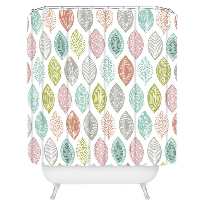 Leaf Pod Shower Curtain