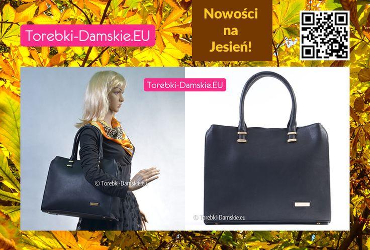 Teraz w naszej ofercie nowy model eleganckiej prostokątnej torby damskiej w formie pojemnej i funkcjonalnej teczki w stylu casual. Bądź trendy - ten model to hit sezonu! Elegancja i styl prosto z Paryża!