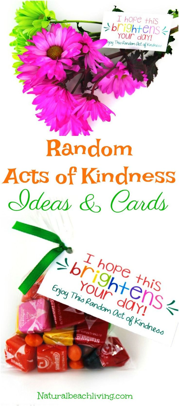 Random Acts of Kindness Printable Cards can be fun for the whole family, Get your kids involved in spreading kindness, Acts of Kindness Gift ideas and free printables #RAOK #randomactsofkindness #kindness