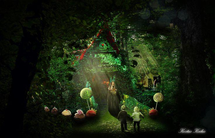 Hansel and Gretel by ksilas on DeviantArt