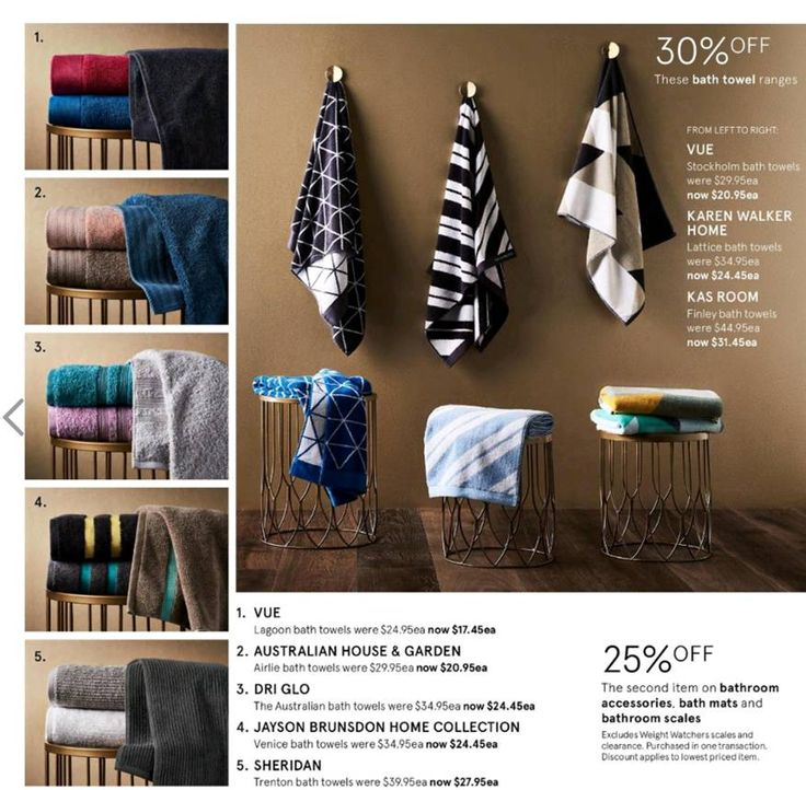 Kas Room new bath towels features on the new @Myer catalogue #loveKas