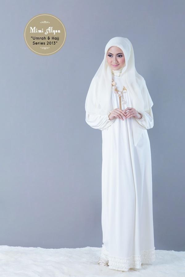 "#Mimi Alysa - ""Rasyiqa Dress"" - Umrah and Hajj Series 2013"