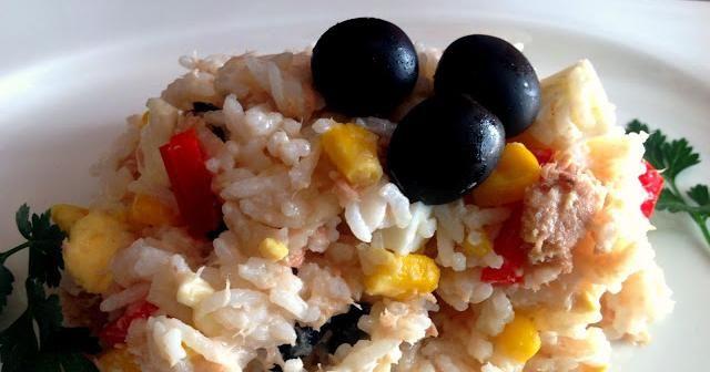 Ensalada de arroz Basmati