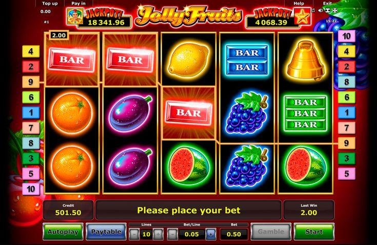 Das ist super toller #Spielautomat  von #Novomatic - Jolly Fruits! Sammle deine Fruchte kostenlos und lasse dich nie langweilen!