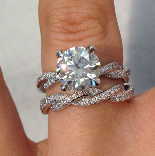 infinity band. represent your everlasting love with a stunning michael b infinity braid engagement ring and wedding band! available at two by london americana man\u2026 band i