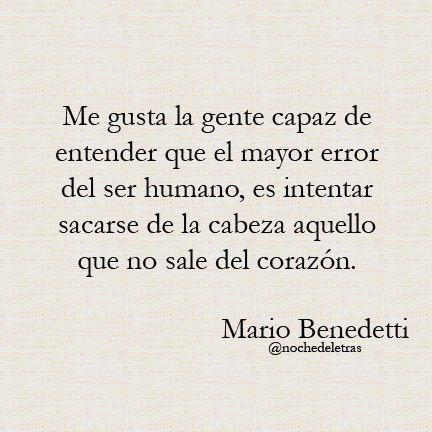 Mario Benedetti...