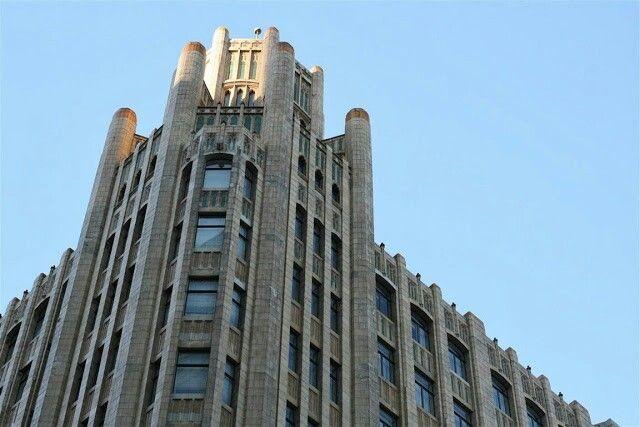 Gotham  Architecture, perspective, angles, cityscape, light, color
