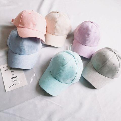 Vegan Suede Pastel Cap // Discount code: tokyo