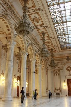 The Parliament Palace, second largest building in the world, Bucharest, http://www.romaniasfriends.com