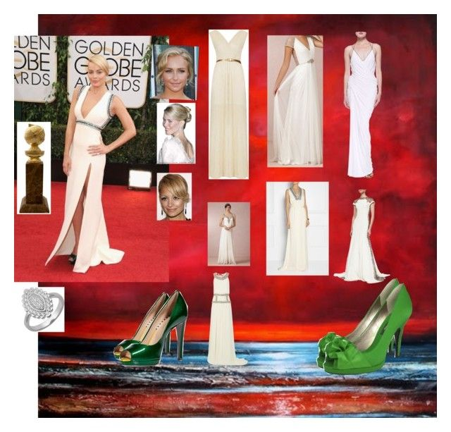 """""""white hot"""" by vivicica on Polyvore featuring By Malene Birger, Oh My Love, Lela Rose, Temperley London, Donna Karan, Sergio Rossi, POSH and Lord & Taylor"""