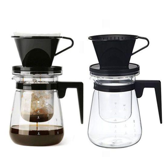 IWAKI Cold Brew Dutch Coffee Maker Ice&Hot Hand Drip SET 700mL 23.66oz Specialty #IWAKI