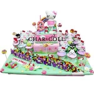 Hello Kitty & Sanrio Birthday Cake
