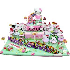 Hello Kitty & Sanrio Birthday Cake