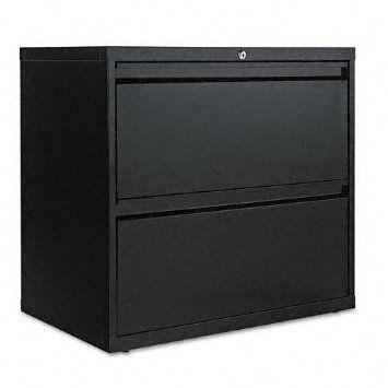 Alera LA523029BL 2 Drawer Lateral File Cabinet   Black   Amazon.com   $293