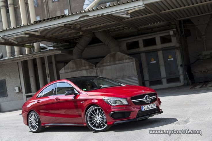 Mercedes Benz Cla 45 Amg Con Un Aspecto Parecido Al Cls