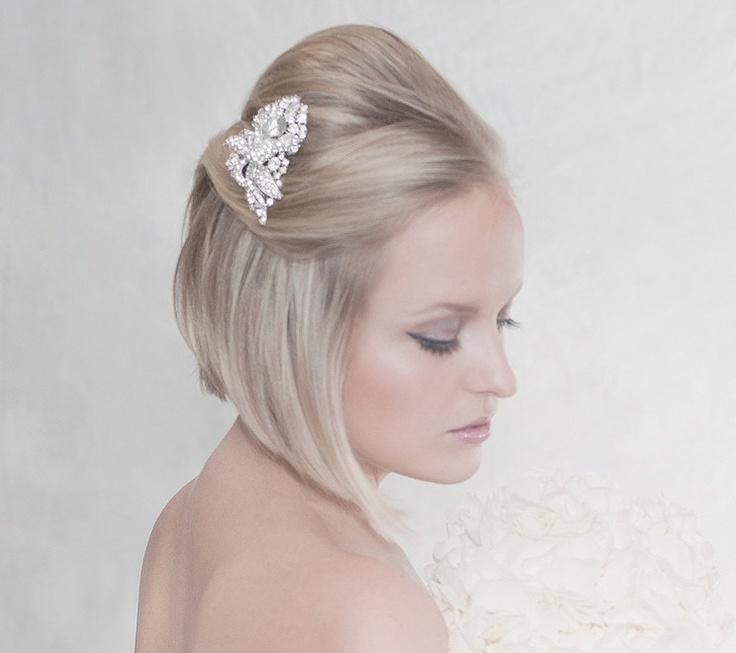 Kaili Rhinestone Hair Hair Comb by Erin Fitzpatrick
