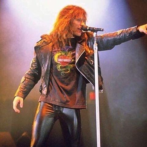 Jon Bon Jovi ❤ #rocker #bestbandever #bestidol #myeverything #leatherpants #80s #80smusic #80smetal #80srock #rockmusic