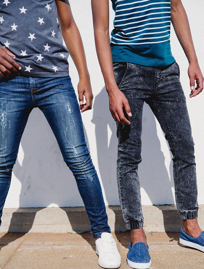 Denim // SODA Bloc Skinny Denim, Joggers Teen Boy Fashion ...