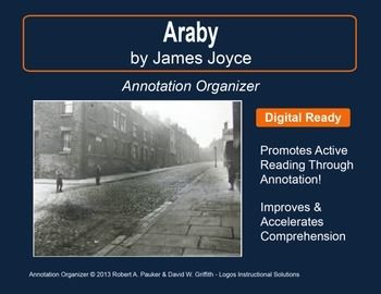 "➡ UPDATED WITH NEW ADDED FEATURES ⚡  ""Araby"" by James Joyce is part of our Short Story Annotation Series designed to improve annotation skills, bolster reading comprehension, and cultivate literary appreciation."