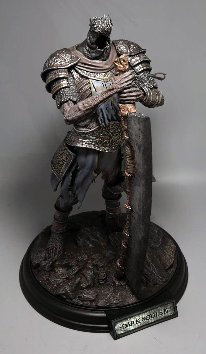 dark souls 3 - i actually got one these only 2000 of them were made i have number 451 i believe and i payed abour 400$ for it