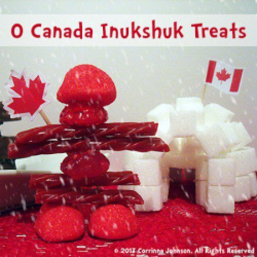 Need an idea for a Canadian themed party appetizer? Make these super cute and delicious edible Inukshuk statues modeled after the magnificent stone monuments built by the Inuit people.