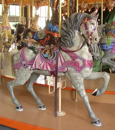 he Enchanted Dentzel Carousel Horses