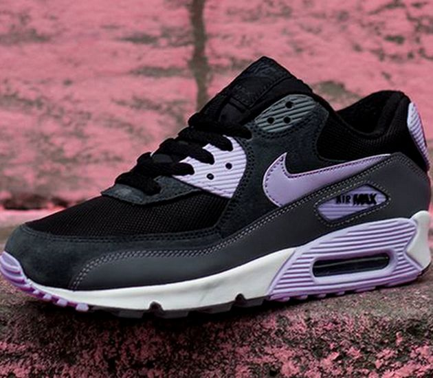 Air Max 90 Essential Black Wolf Grey