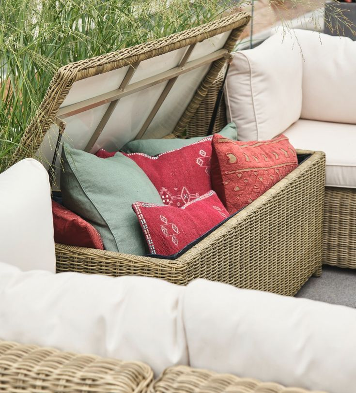 Where Should Patio Furniture Cushions Be Stored