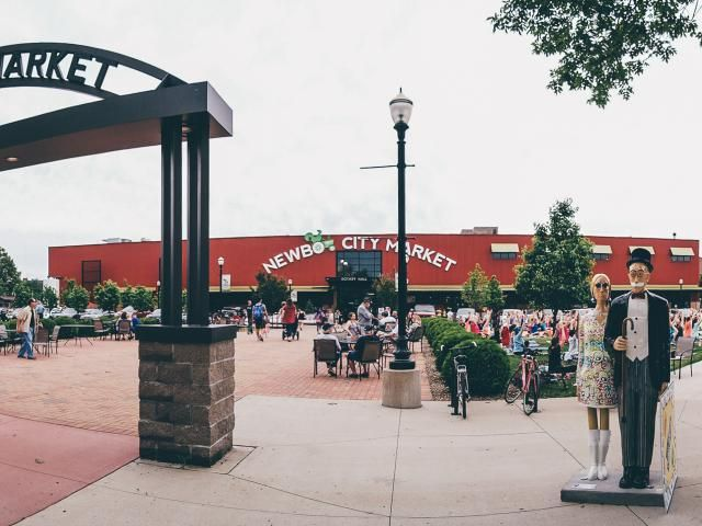 NewBo City Market in Cedar Rapids, Iowa