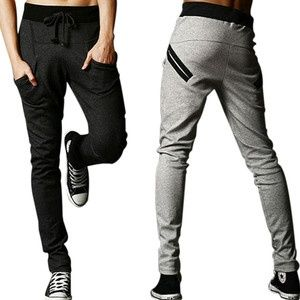 Casual Harem Baggy Hip Hop Taper Dance Sport Sweat Pants Trousers Slacks