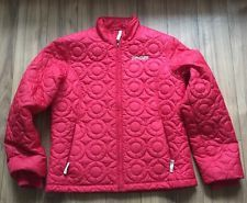 Spyder Women'S Quilted RED Jacket Size 10 Medium | eBay