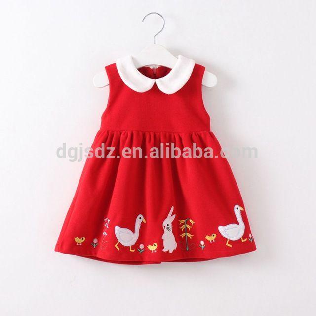 Corea del pequeño animal bordado chica chaleco collar de la muñeca nueva caída faldas al por mayor-en Vestidos para chica de Ropa Niños en m.spanish.alibaba.com.