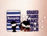 "Homepride Flour - ""Because graded grains make finer flour"" By dad's army John Le Mesurier"