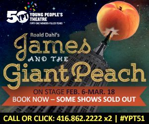 Come to YPT on Family Day for an adventure of ENORMOUS proportions!