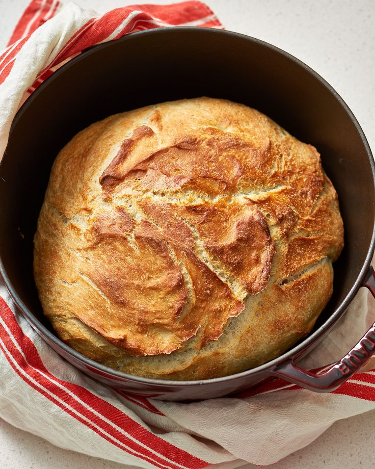 How To Make No-Time Bread — Baking Lessons from The Kitchn