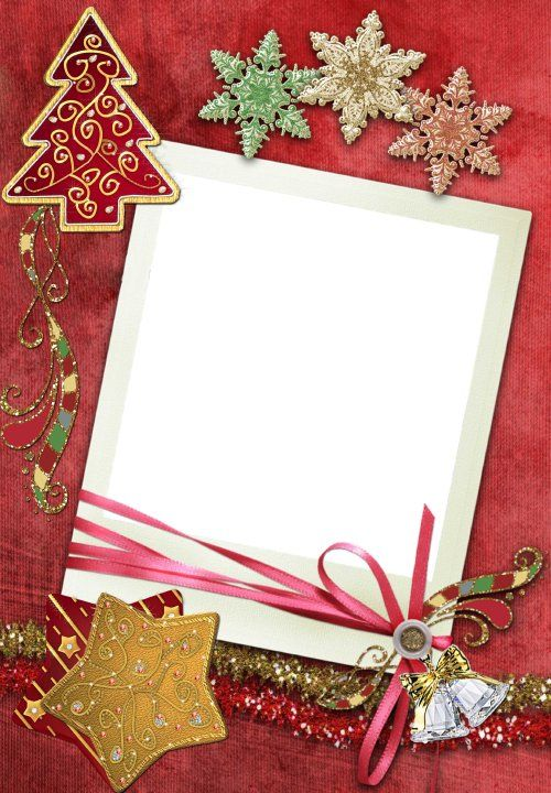 Christmas - Stationery with Stars, bells, etc.
