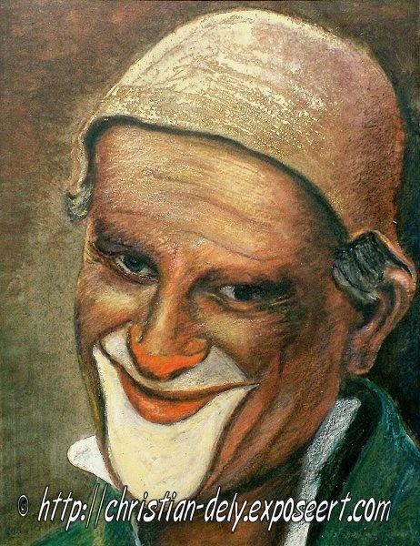 Christian Dely Christian Dely werd in 1931 in Waarschoot (België) geboren. Hij volgde een schildersopleiding aan de academie, maar ging als onderhoudschilder in een katoenfabriek werken. Uiteindelijk werd hij toch kunstschilder. Christian Dely is in 1986 in Gent overleden. Zie ook http://www.em-ha-em-art-productions.nl/mainport/kunstenaars/christiandely/