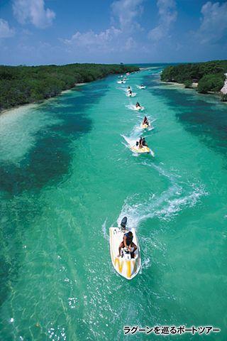 手つかずの自然を遊び尽くすボートツアー!カンクン旅行の観光スポットまとめ。