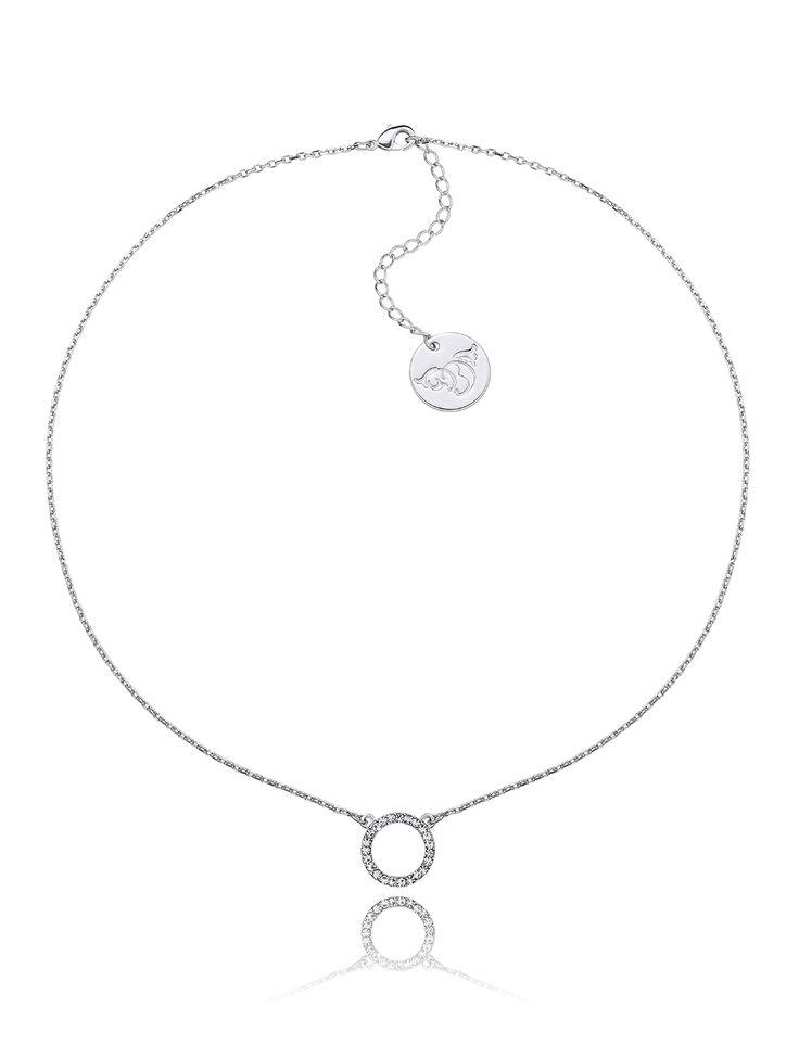 Naszyjnik By Dziubeka. Twój styl - silver #bydziubeka #jewerly #bizuteria  #srebrny