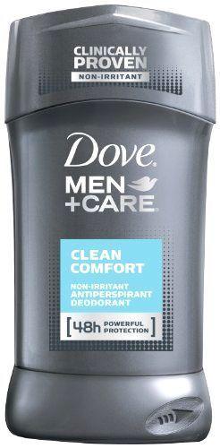 Man Deodorant Set Dove Men+Care Antiperspirant , Clean Comfort 2.7 oz #Dove
