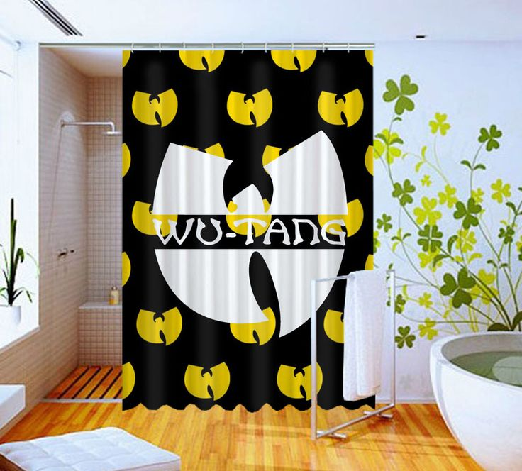 Rap Music Wu Tang Logo  High Quality Custom Shower Curtain 60 x 72 #Unbranded #Modern #Unbranded #Modern #BestQuality #Cheap #Rare #New #Latest #Best #Seller #BestSelling #Cover #Accessories #Protector #Hot #BestSeller #2017 #Trending #Luxe #Fashion #Love #ShowerCurtain #Luxury #LimitedEdition #Bathroom #Cute #ShowerCurtain #CurtainGift