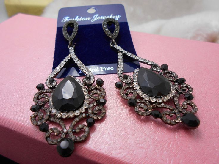 rhinestone bridal earrings Crystal Dangling Earrings Wedding Drop Earrings Bridal Jewelry for women rhinestone earings dangle