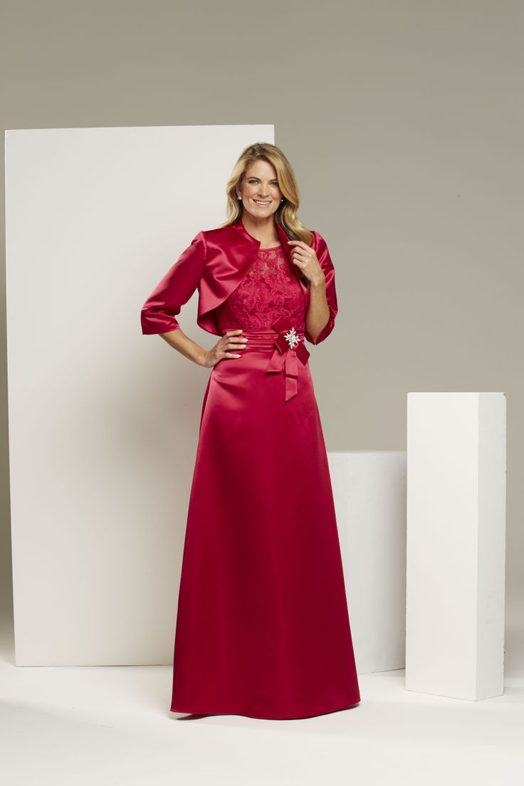 Mr K Bridesmaid dress. Style: KB5223 bolero jacket with KB5221 dress.