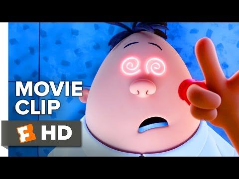 CAPTAIN UNDERPANTS: THE FIRST EPIC MOVIE Clip - Hypnotizing Krupp