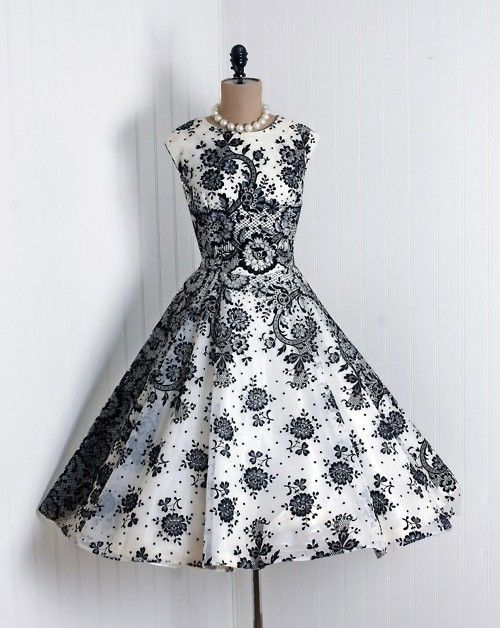 35 Best 50s Images On Pinterest Vintage Dresses Retro Fashion And