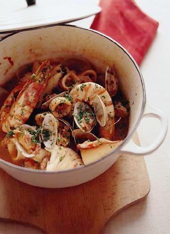 ブイヤベース風魚介のトマト煮 | 柳瀬久美子さんのレシピ【オレンジページnet】プロに教わる簡単おいしい献立レシピ